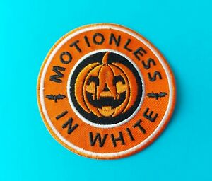 Motionless In White Sew / Iron On Patch (a) Pop Punk Heavy Metal Rock Music