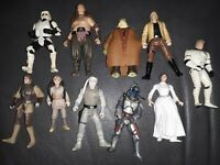 Lot of 10 - 1990s LFL Star Wars Action Figures NO DUPLICATES RARE SET CLEAN💪🙋‍