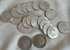 1964 Kennedy Half Dollar Roll 20 Coins 50 Half Cents Ms 60/63 90% Silver