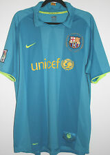 "EX! Barcelona FC 2007/2008 Nike Away Shirt XL 45"" - 47"" Camiseta Trikot 07/08"