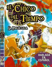 El Chico Del Tiempo La Pelicula (Time Kid) NEW DVD