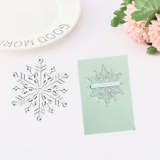 Snowflake Cutting Dies Stencil Scrapbook Paper Cards Card Embossing Die-Cut Fash