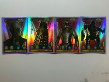 Doctor Who Alien Armies Foil Assortment of 'F' Trading Cards