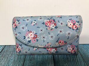Cath Kidston Blue Floral Womens Purse