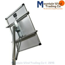 Top of Pole Mounting Rack for single 100 watt solar panel