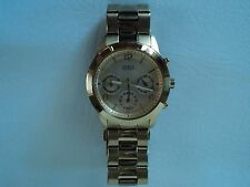 GUESS Chronograph Goldtone Stainless Steel Ladies Watch U13578L1