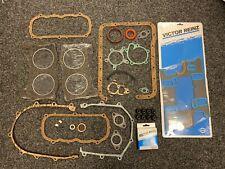 FORD 1.5 CAPRI TAUNUS V4 Victor Reinz Full Engine Gasket Set 01-21255-02