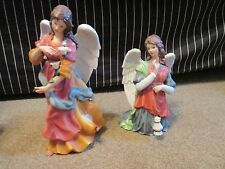 2 Vintage O'Well American Angels Figurines