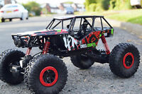 BUGGY ROCK CRAWLER 4WD OFF ROAD MONSTER TRUCK RADIO REMOTE CONTROL CAR 1/10