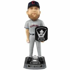 Corey Kluber (cleveland Indians) 2017 Al MLB CY Young Winner Bobblehead by Foco