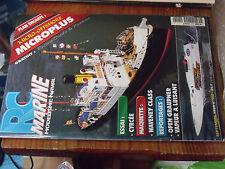 10µµ Revue RC Marine n°102 plan encarté Microplus / Waveney Class Cyrcée