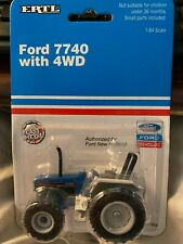 1:64 ERTL DIE CAST FORD 7740 4 WD TRACTOR New 333