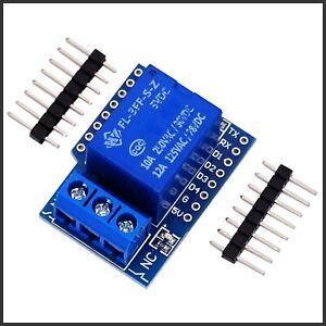 Mini Relais Shield Erweiterung Relay Relais Zubehör für D1 Wemos mini Arduino