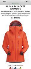 XS Alpha SV Womens Arcteryx Jacket