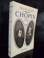 Franz Liszt Chopin J.G Prod ' Uomo Correa Parigi 1942 Tbe IN 12