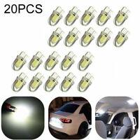 20Pcs/Kit T10 501 W5W Car Side Light Bulbs Error Free Canbus Wedge SMD LED Xenon