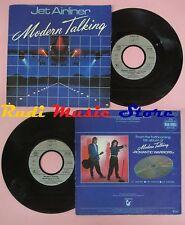 LP 45 7'' MODERN TALKING Jet airliner 1987 germany HANSA 109 138 no cd mc dvd