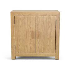 Holmfield oak furniture two door storage cabinet cupboard