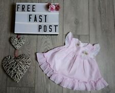 laura ashley baby girl party occasion dress 6-9 FREE POST designer