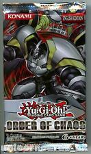 YuGiOh! Order of Chaos New and Sealed YuGiOh Booster Pack