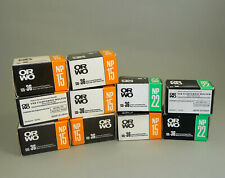 Lot of 10 pieces ORWO Negative Film 35mm NP15, NP22, Sealed, Expired
