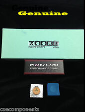 1 EA 1 Genuine Moori® IV Medium Cue Tip & 1 Morakami™ Chalk Free Ship GREAT DEAL