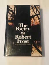 """""""the poetry of robert frost"""" Hardcover w/Dust Jacket Mint for Vintage Copy"""