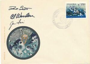 Apollo 15- Signed Cover by Scott, Worden & Irwin