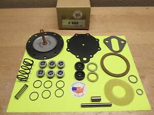1955 1956 HUDSON HORNET WASP 6 CYL. MODERN DOUBLE ACTION FUEL PUMP KIT AC 4057