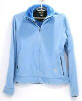 Mountain Hardwear Women's Long Sleeve Full Zip Blue Jacket Size M