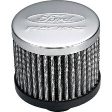 Ford Performance 302-236 Mustang Oil Breather Cap Push-In Chrome Open Element Wi