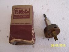 NOS 1954 Ford Heater Switch Assembly Fairlane Victoria Custom + + +  FDA-18578-C