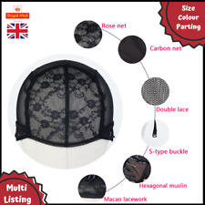 Professional Wig Making Cap - Double Mesh Lace, Secure, Glueless & Adjustable