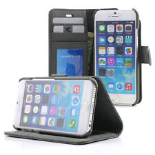 """Prodigee Wallegee Gray iPhone 6 6s 4.7"""" Card Wallet Leather Flip Case Cover"""