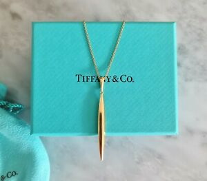Extremely Rare, 18ct Gold Tiffany & Co Feathers Necklace