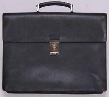 PRADA Black Saffiano Leather Briefcase w/ Combination Lock - Men's / Unisex