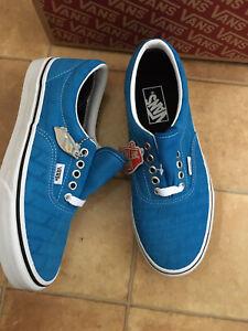 Vans Old Skool Blue Suede Leather Trainers, Size 6 (EUR 39), BNWT
