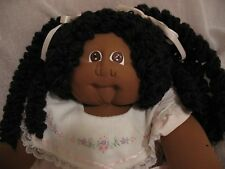 Early African American Cloth Soft Sculpture Cabbage Patch / Little People Doll