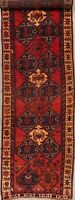 Vintage Tribal Geometric Lori Runner Rug Wool Hand-Knotted Hallway Carpet 4'x12'