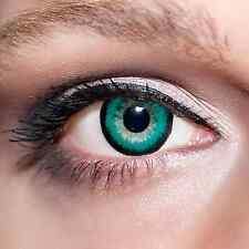 Grüne Big Kontaktlinsen 15mm farbige große Augen Green Lens Baby Doll Eyes;K602