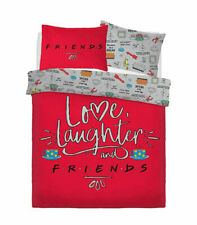 Warner Brothers Friends Love Laughter Children Bedding Duvet Set and Pillowcase