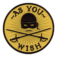Officially Licensed Princess Bride Embroidered Iron On Patch
