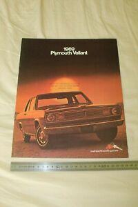 (206) Large Brochure catalogue 1969 PLYMOUTH Valiant