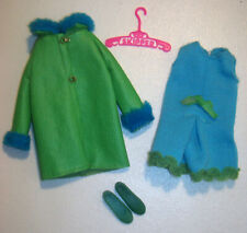 Vintage SKIPPER DOLL BRIGHT 'N BREEZY SET Mod Outfit #1590 Sears Exclusive 1969