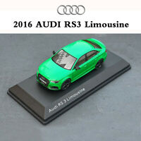 1:43 Scale Audi Original Factory 2016 AUDI RS3 Limousine Car Diecast Metal Model