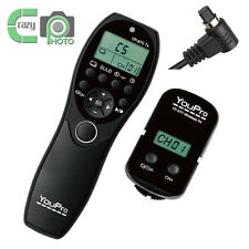 2.4GHz Wireless Timer Remote Controller for Canon EOS 50D 5DIII 5DII 7D YP-870II