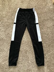 Boys RBX Size L 14/16 Black And White Jogger