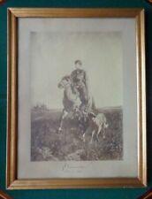 Antique Imperial Russian Photo Signed Grand Vladimir Romanov Royal Provenance