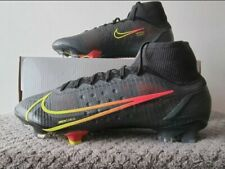 Nike Mercurial Superfly 8 Elite FG - UK Size 8 - CV0958 090 - Black/Pink/Yellow