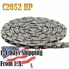 #C2052HP Hollow Pin Conveyor Roller Chain 10 Feet with 1 Connecting Link